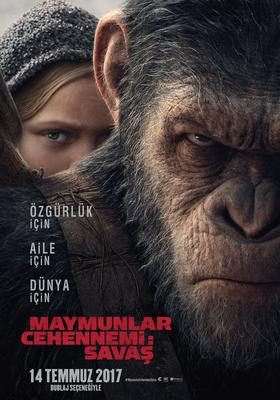 Maymunlar Cehennemi: Savaş / War For The Planet Of The Apes / 14 Temmzu 2017 Vizyonda!